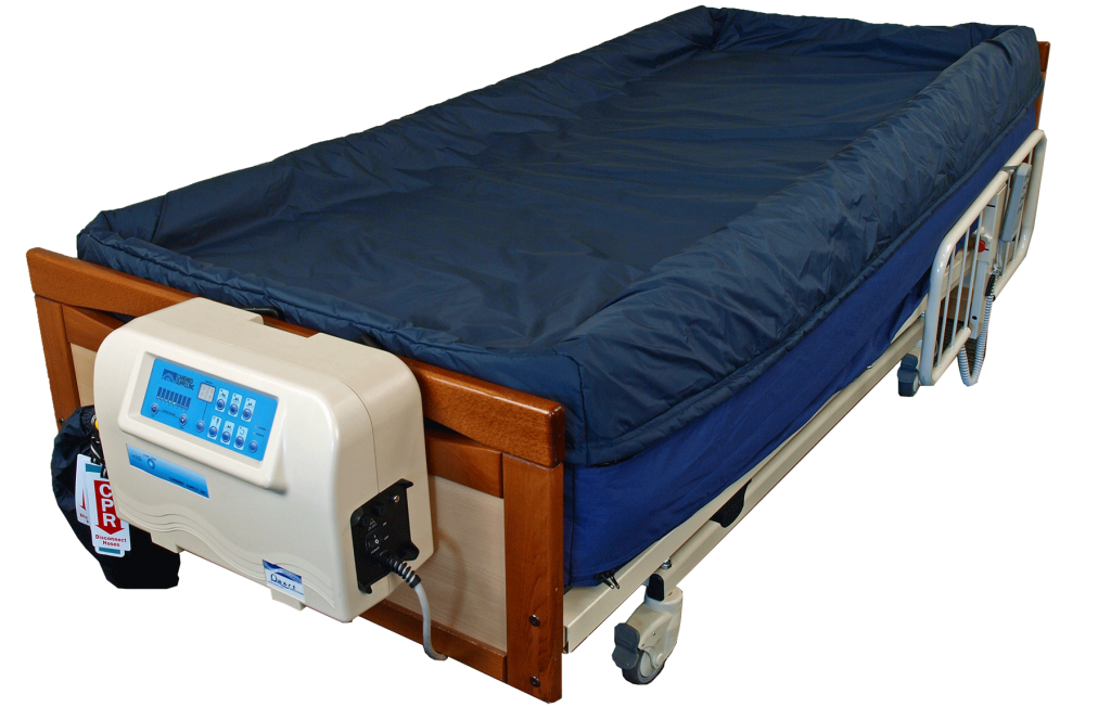low air loss mattress turning system